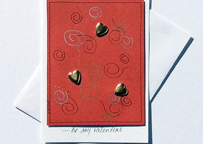 066HR_Be_My_Valentine_Hearts_Handmade_Card